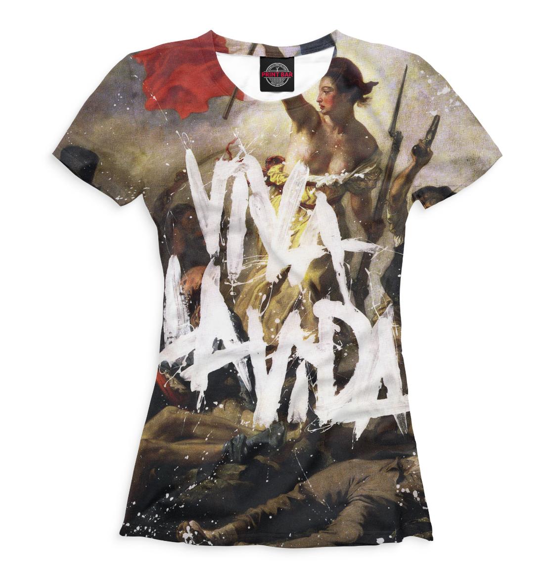 Женская футболка 3D Viva la Vida