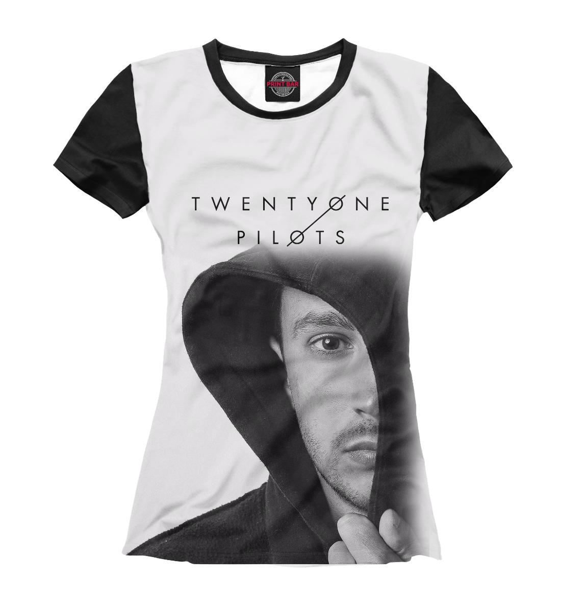 Женская футболка 3D Twenty One Pilots Тайлер Джозеф от Print Bar