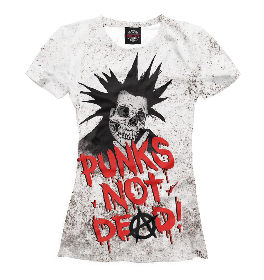 Женская футболка 3D Punks not Dead!
