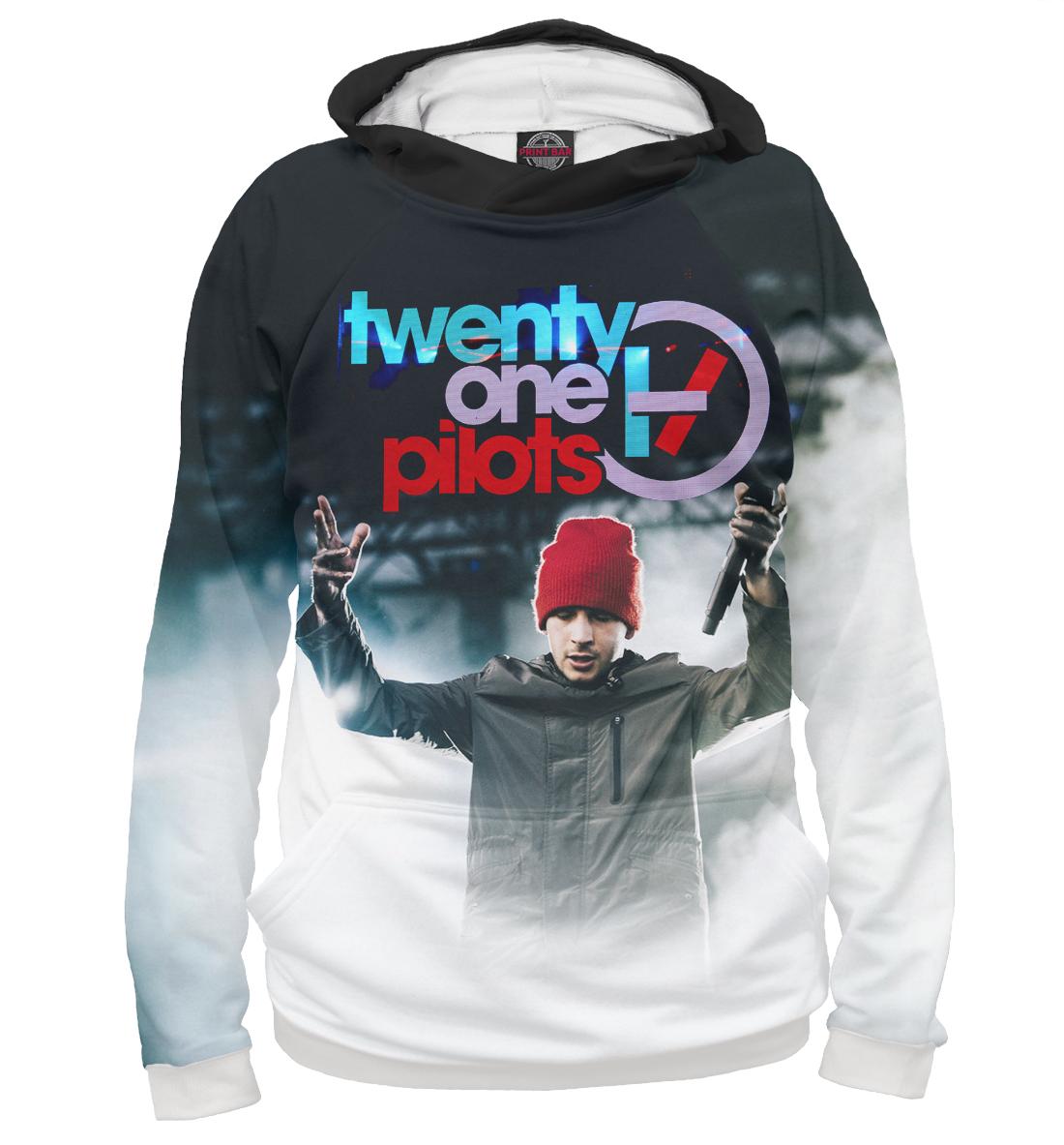 Женская толстовка 3D Twenty One Pilots - Тайлер и красная шапка от Print Bar